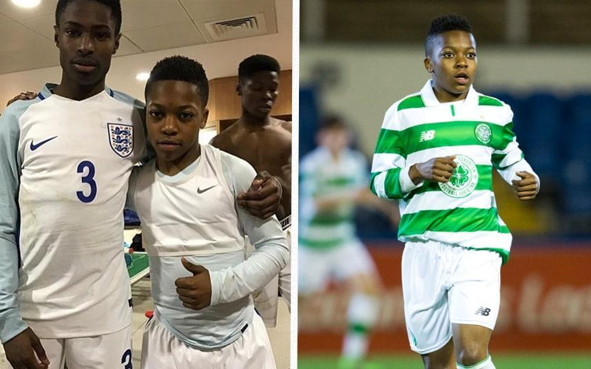 Karamoko Dembele makes his England youth team debut aged 13