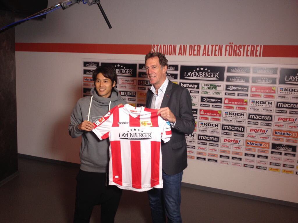 Official Atsuto Uchida to Union Berlin