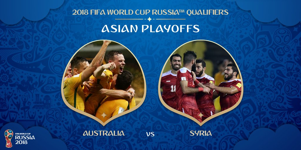 Syria Will Play Australia in Fourth Round of AFC Qualifying