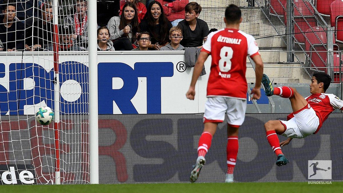 Mainz [1]-1 Leverkusen - Yoshinori Muto