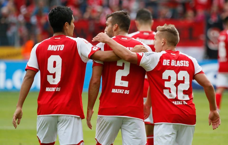 Yoshinori Muto goal against Leverkusen volley