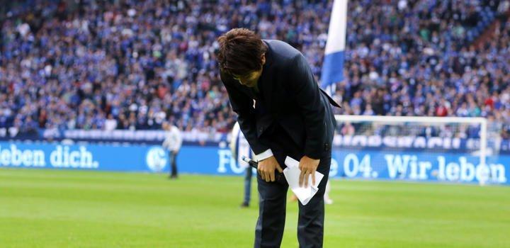 Emotionaler Abschied auf Schalke Fans feiern Uchida mit Gänsehaut-Stimmung