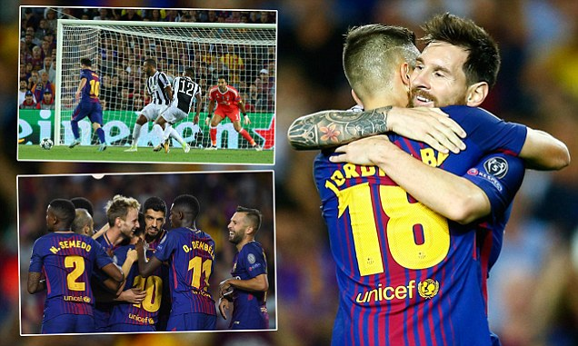 Messi beats Buffon for the first time before adding another as the Old Lady are routed