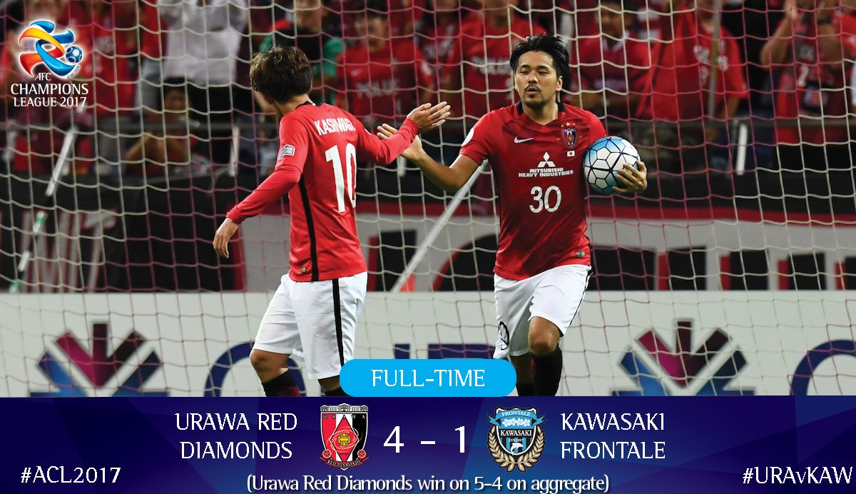 REDSOFFICIAL complete an incredible comeback to reach the #ACL2017 semi-finals
