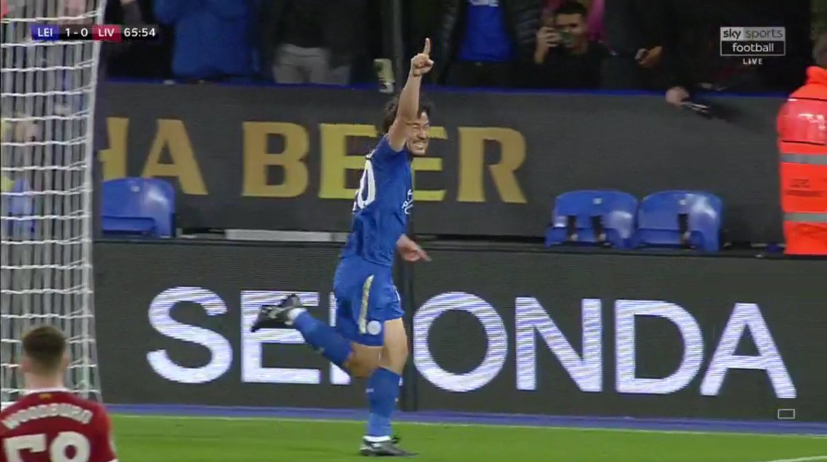 Shinji Okazaki has scored 3 goals in 3 career League Cup apps He now has 4 goals in his last 7 games for @LCFC in all comps