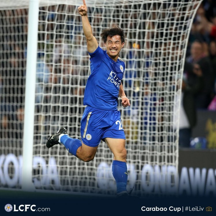 Okazaki and Slimani strike to give Leicester win against Liverpool