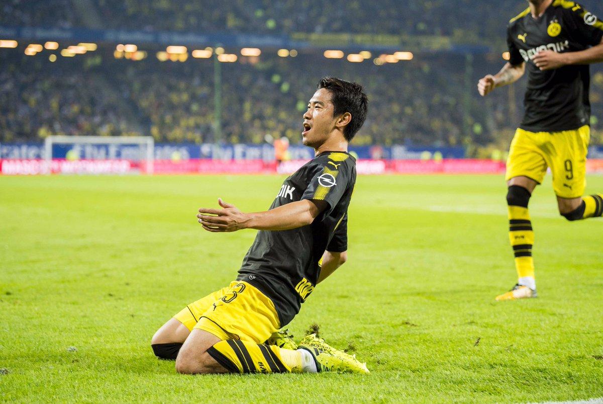 Hamburger SV 0-1 Borussia Dortmund - 24 Shinji Kagawa Bundesliga