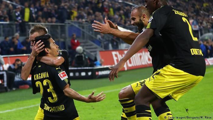 Bundesliga Kagawa leads Dortmund 'fire engine' back to top spot