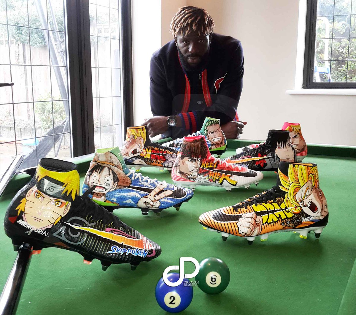 Bakary Sako The guy with the coolest football boots in the world