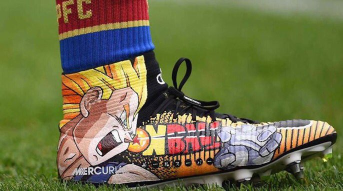 How nice are Bakary Sakos new boots