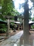 160826 (16)余目八幡神社の外観