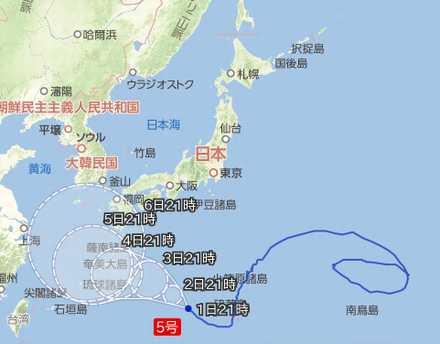 台風5号 8_01