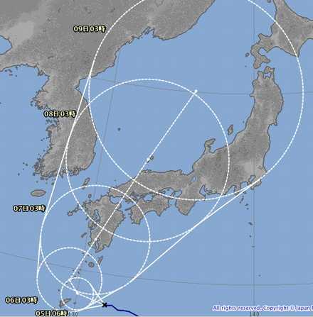 台風5号 8_04_1