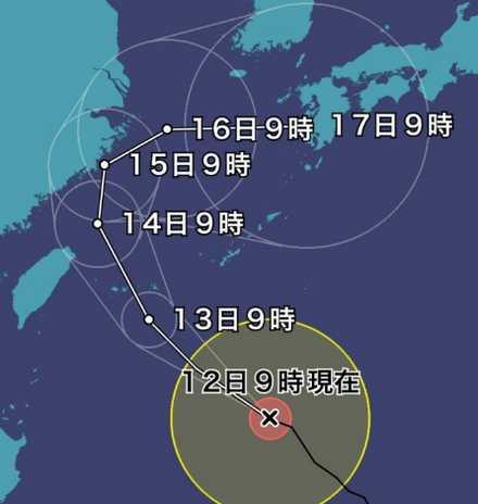 台風18号-1