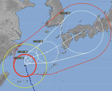台風18号 9-14 3
