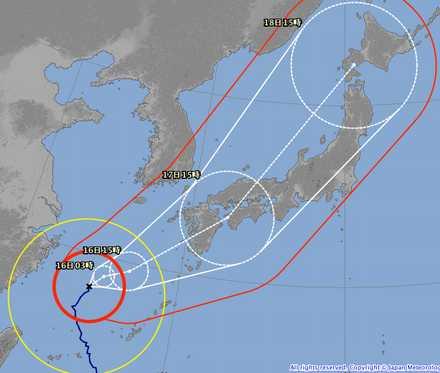 台風18号 9-15 2