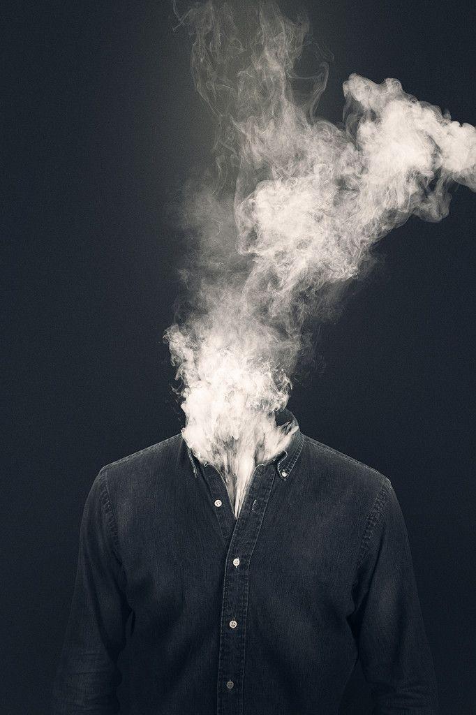 煙 頭 炎上