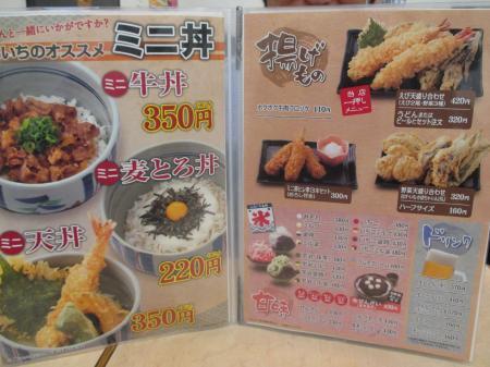 ミニ丼&揚げ物