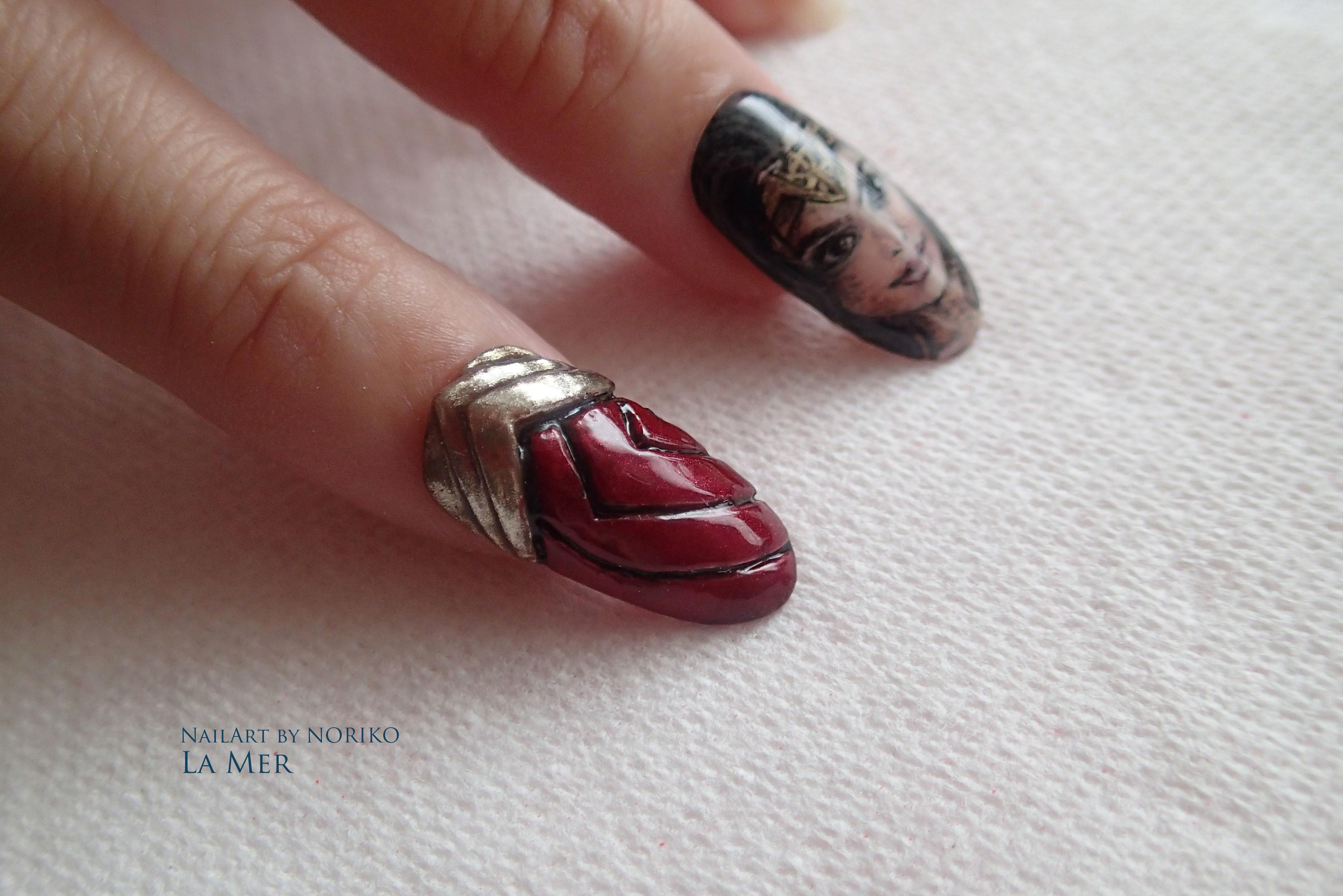 Nail Artist : NORIKO WONDER WOMAN6