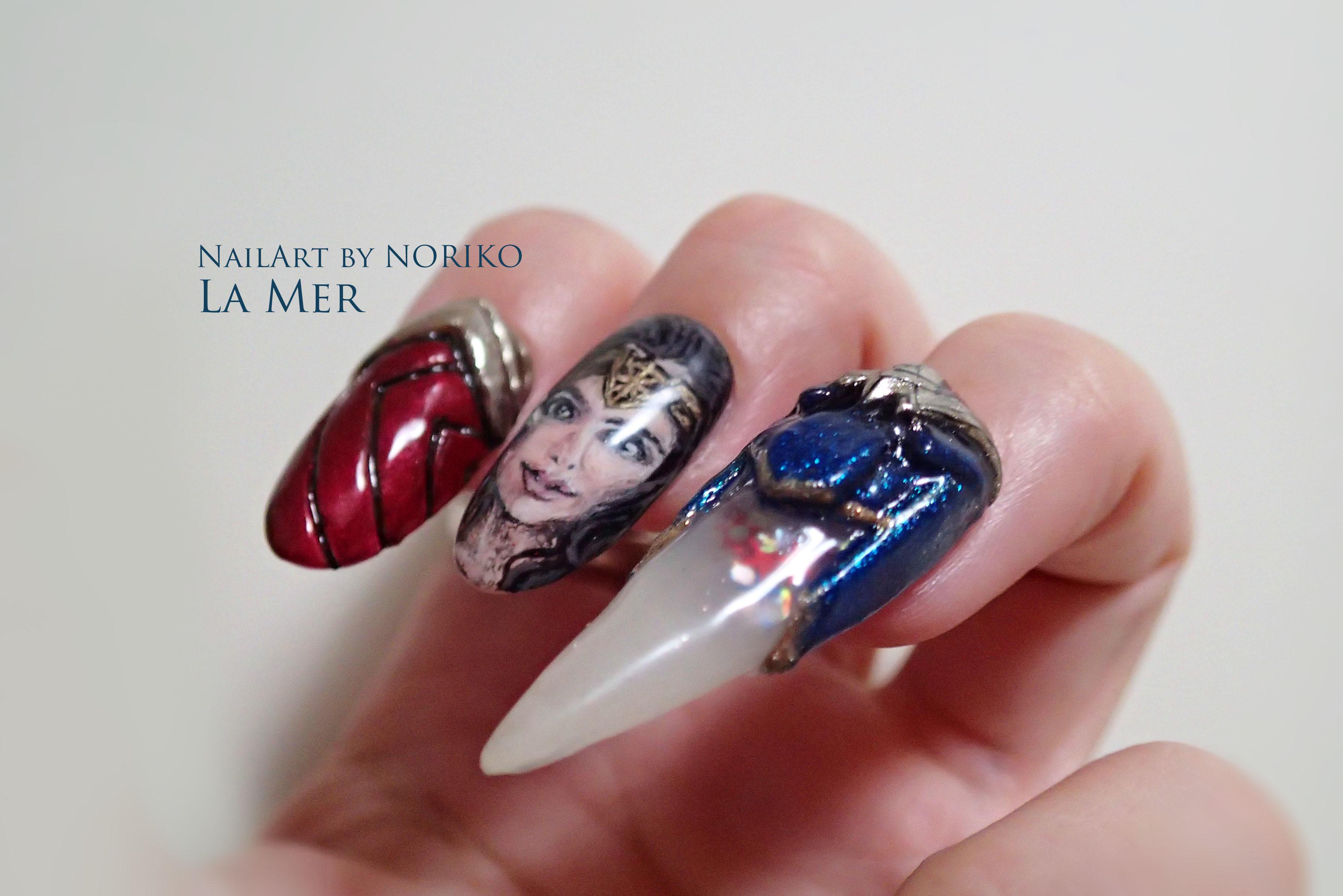 Nail Artist : NORIKO/ 典子 WONDER WOMAN7