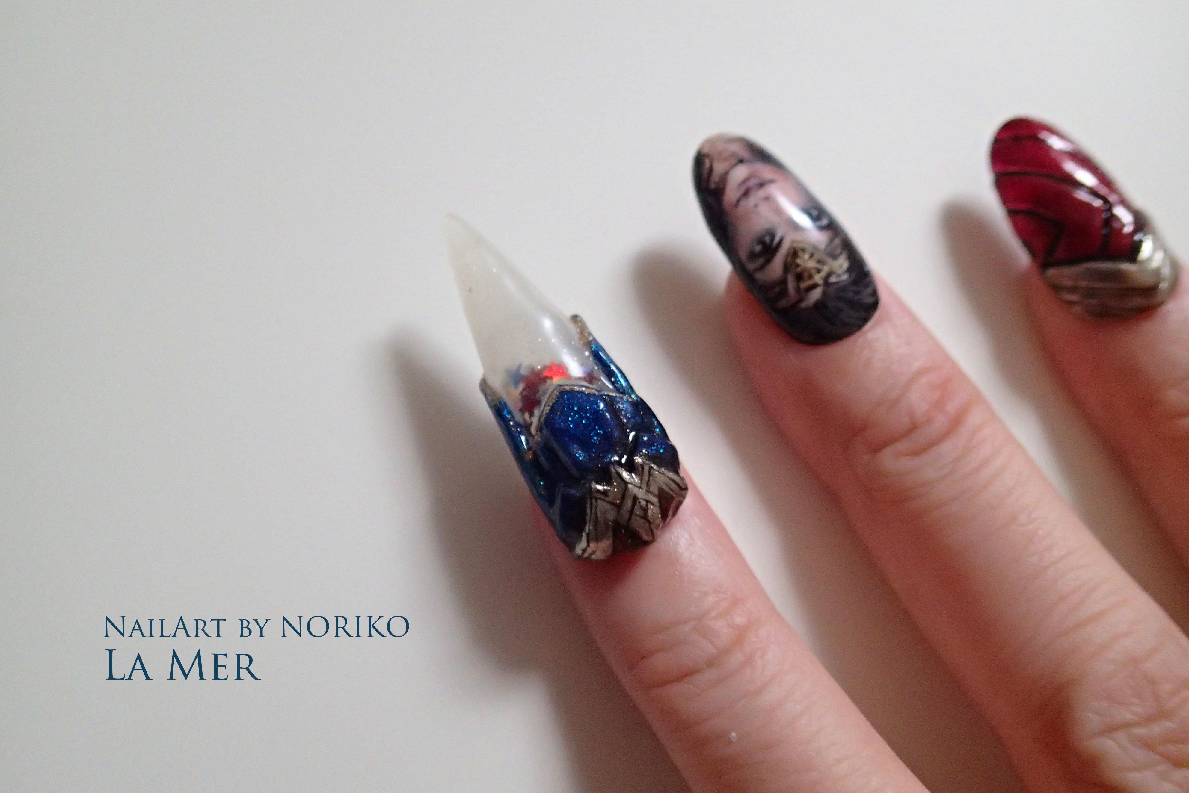 Nail Artist : NORIKO/ 典子 WONDER WOMAN10