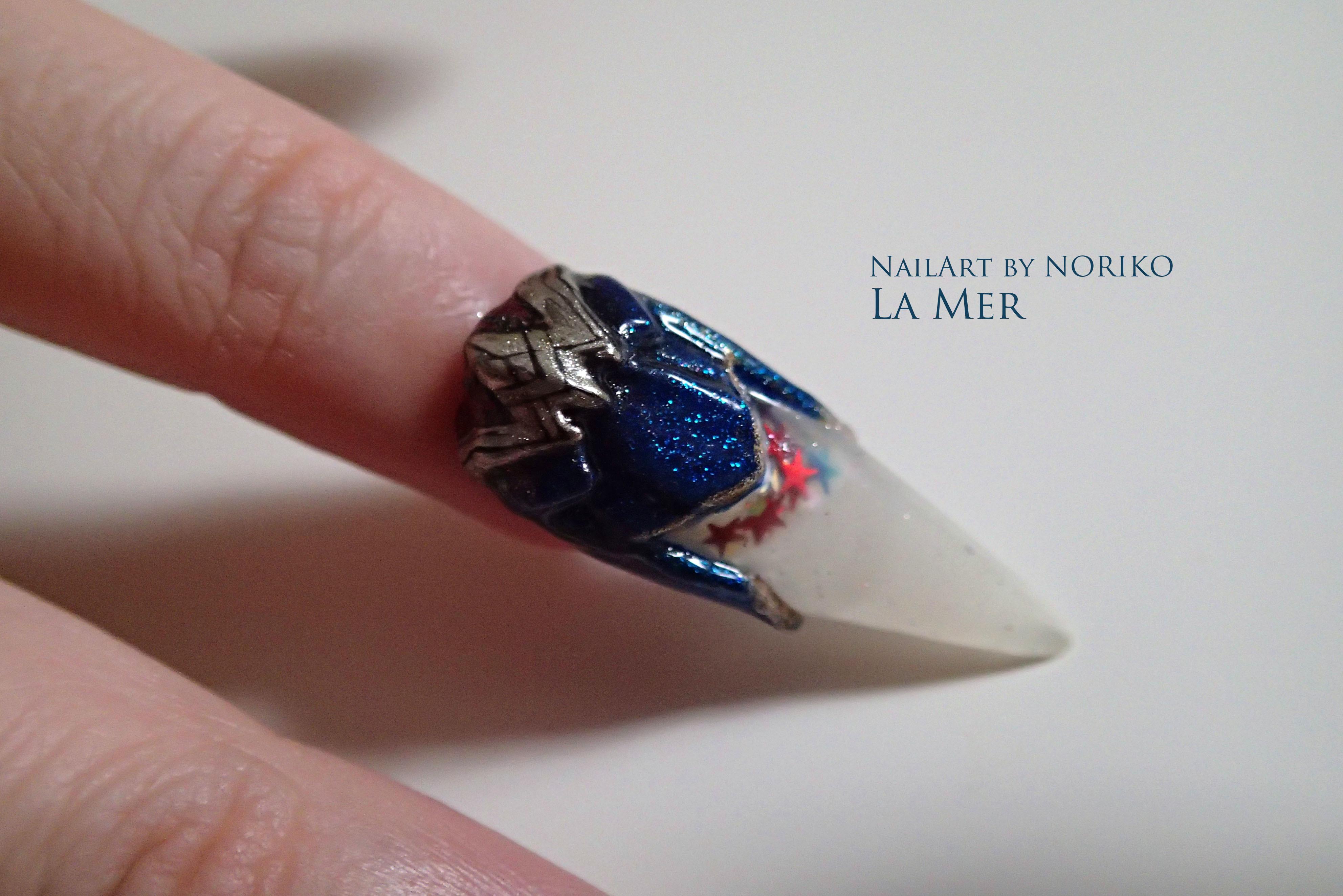 Nail Artist : NORIKO/ 典子 WONDER WOMAN9