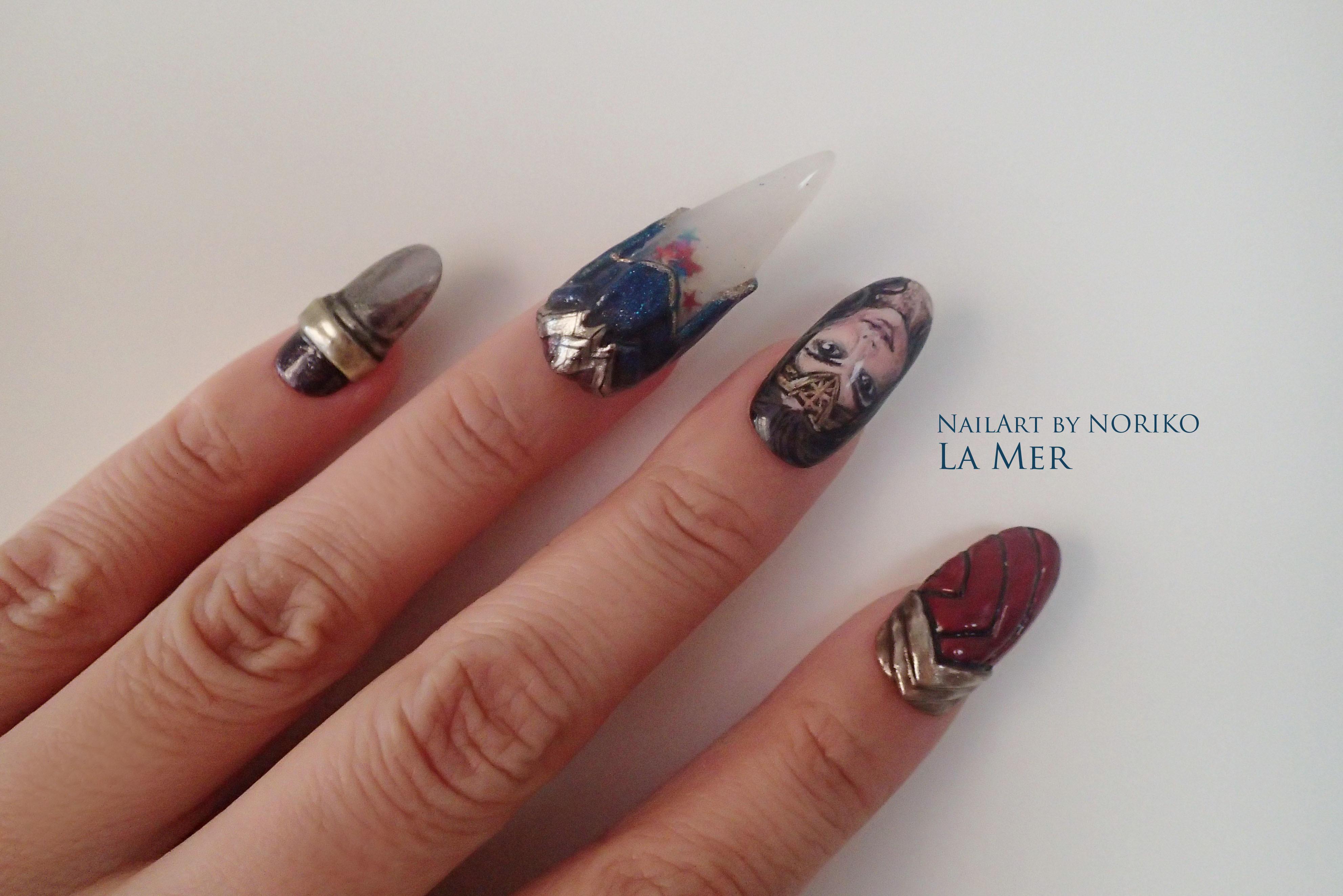 Nail Artist : NORIKO/ 典子 WONDER WOMAN21