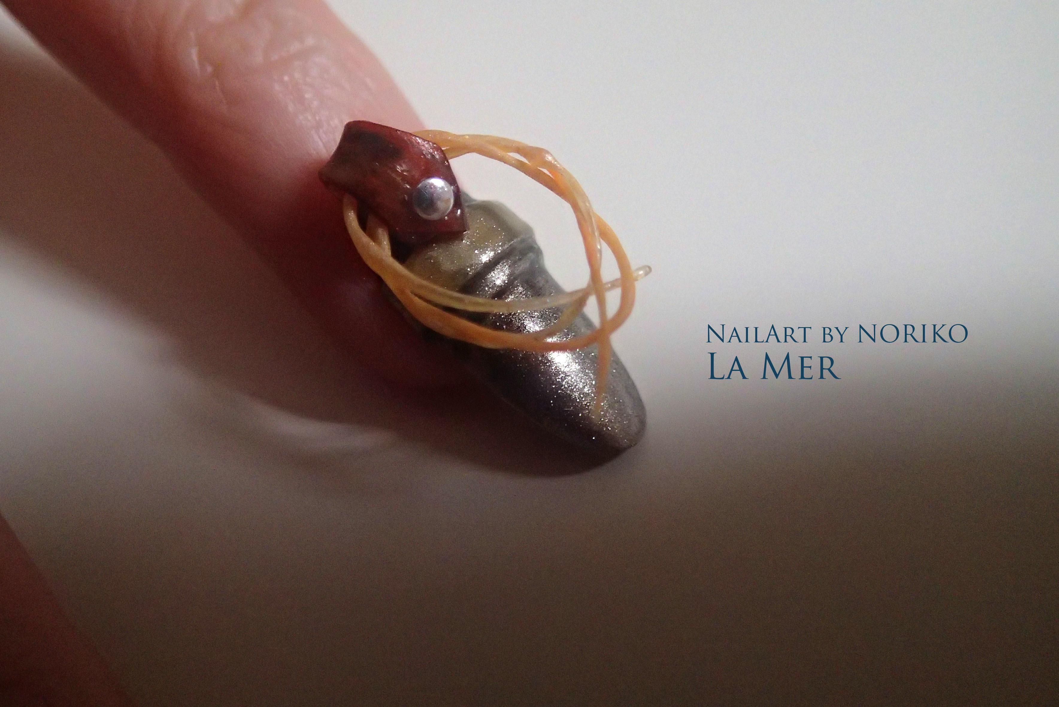 Nail Artist : NORIKO/ 典子 WONDER WOMAN23