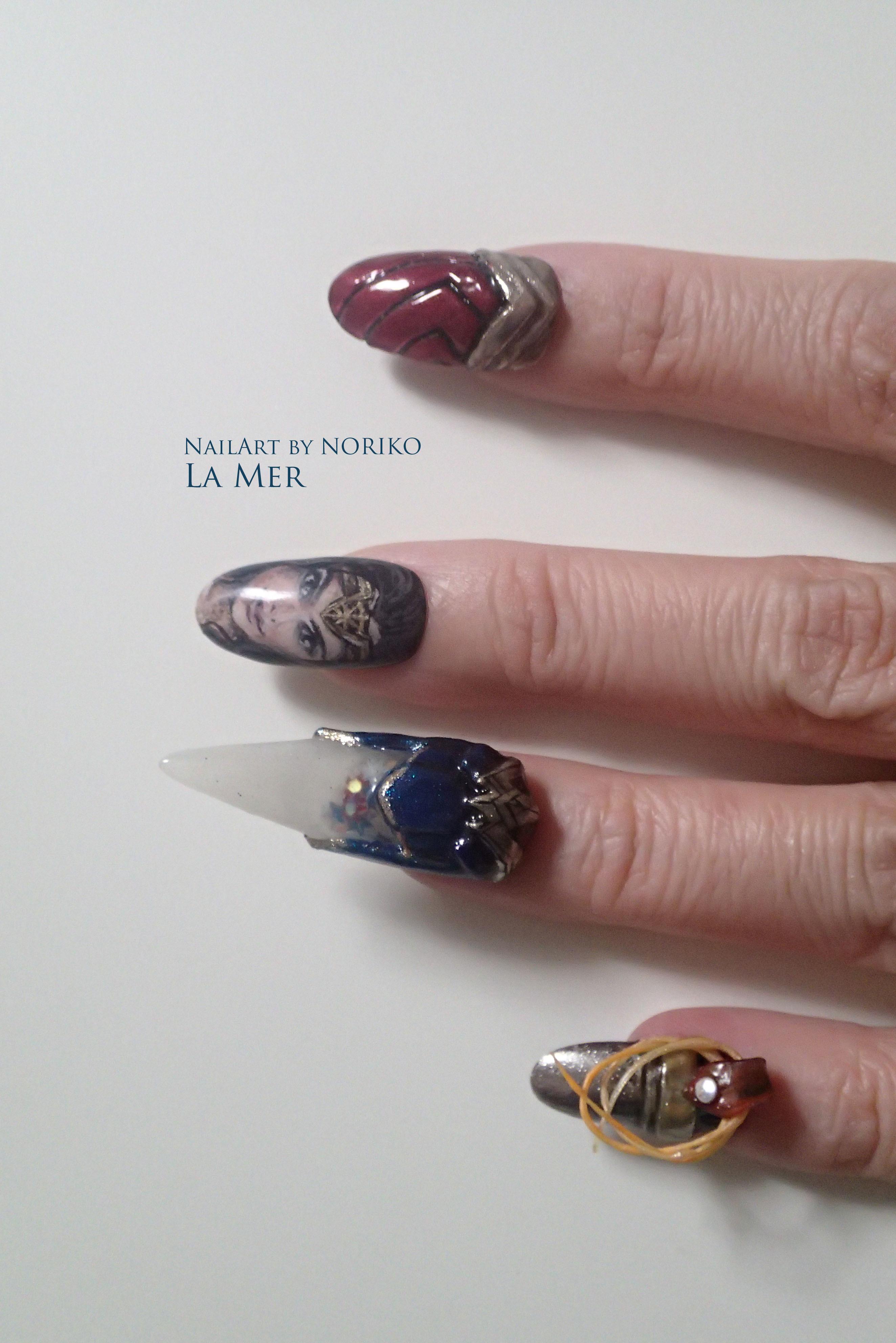 Nail Artist : NORIKO/ 典子 WONDER WOMAN27
