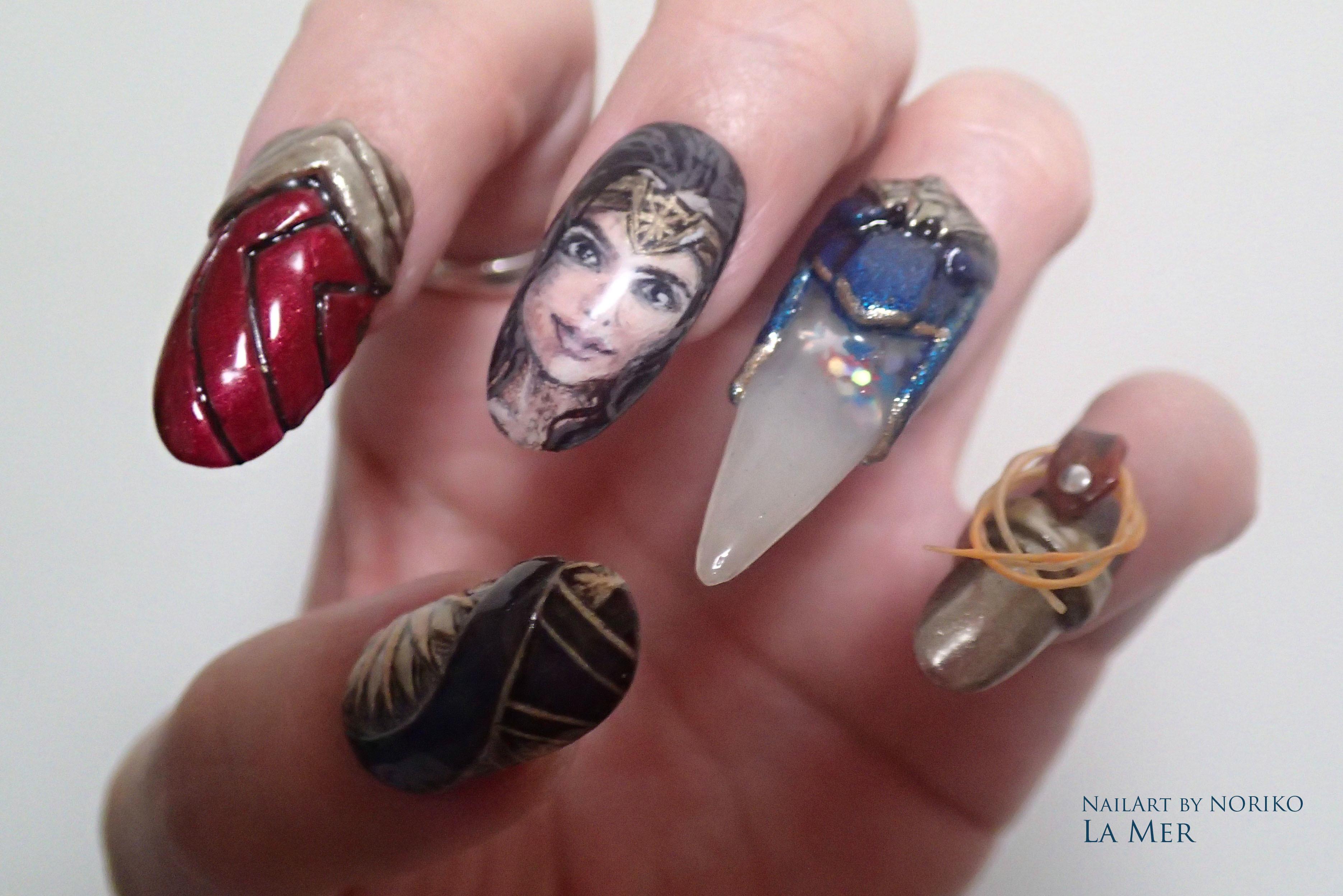 Nail Artist : NORIKO/ 典子 WONDER WOMAN29