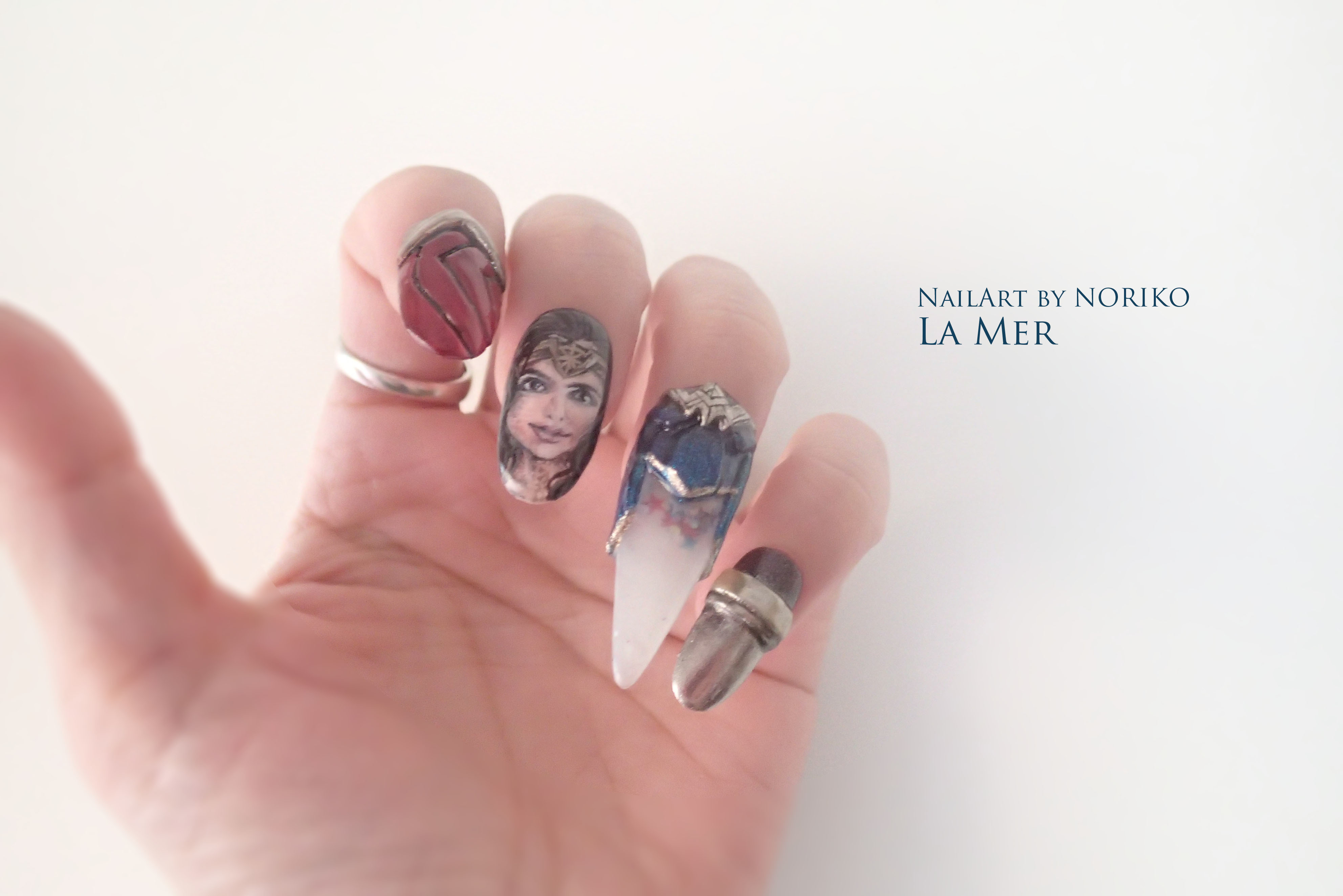 Nail Artist : NORIKO/ 典子 WONDER WOMAN16
