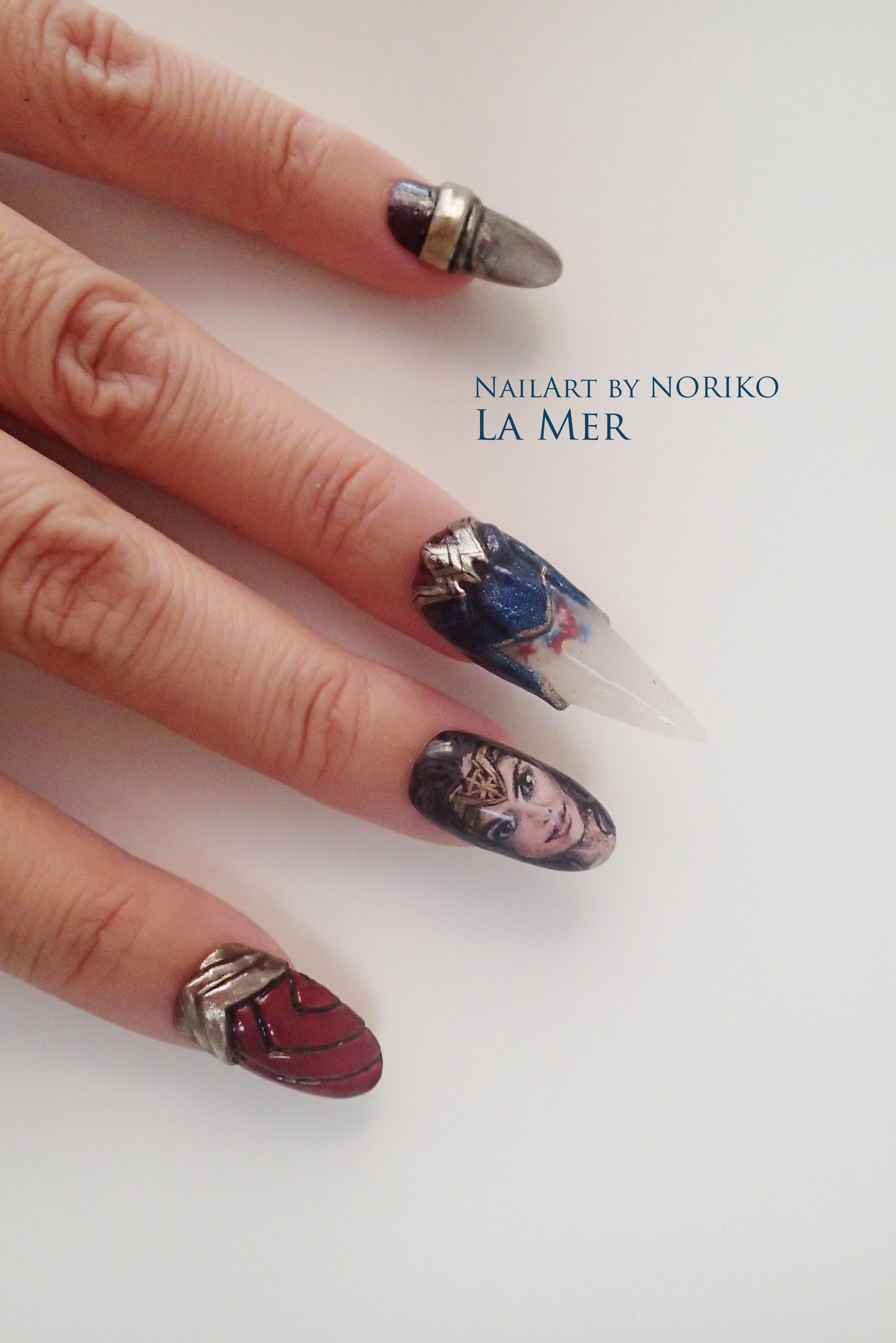 Nail Artist : NORIKO/ 典子 WONDER WOMAN18
