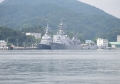 護衛艦ふゆづき【DD-118】と護衛艦みょうこう【DDG-175】(20170811)