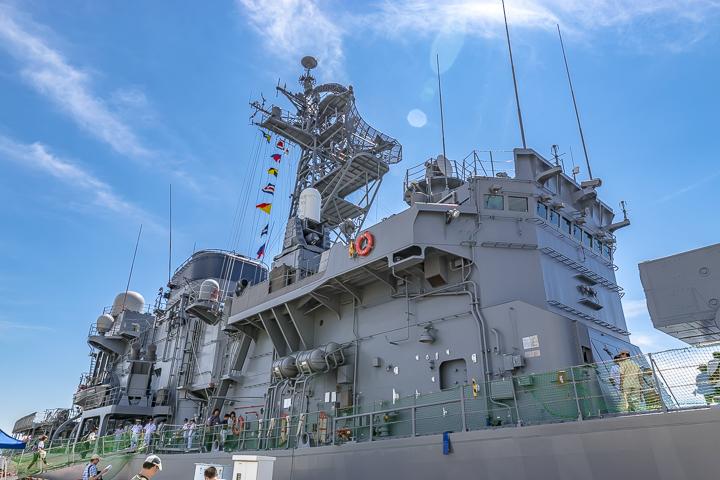 TV3513 練習艦 しまゆき 上部構造物