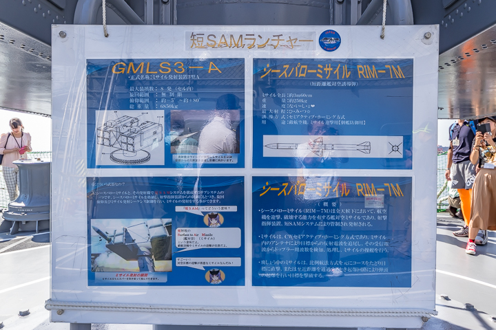 TV3518 練習艦 せとゆき 短SAMランチャー 説明パネル