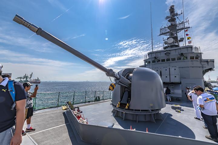 TV3518 練習艦 せとゆき 62口径76mm速射砲 単装速射砲1