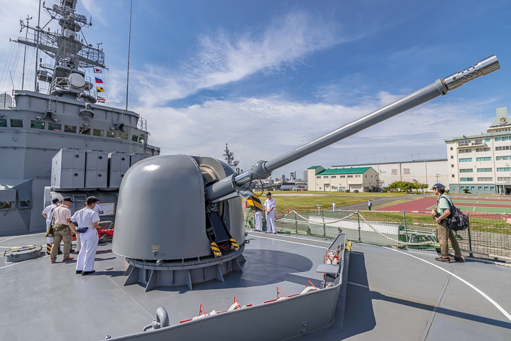 TV3518 練習艦 せとゆき 62口径76mm速射砲 単装速射砲2
