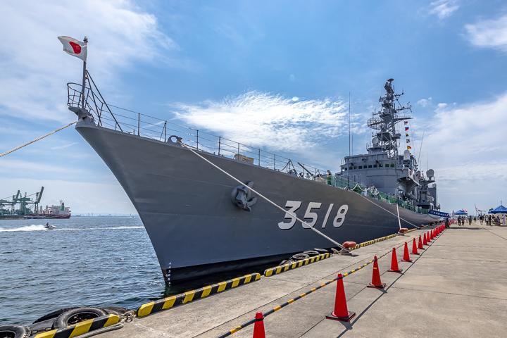 TV3518 練習艦 せとゆき 艦首より全景