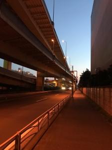 磯子駅前首都高