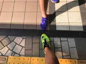 20170830ヤビツ峠シューズ写真