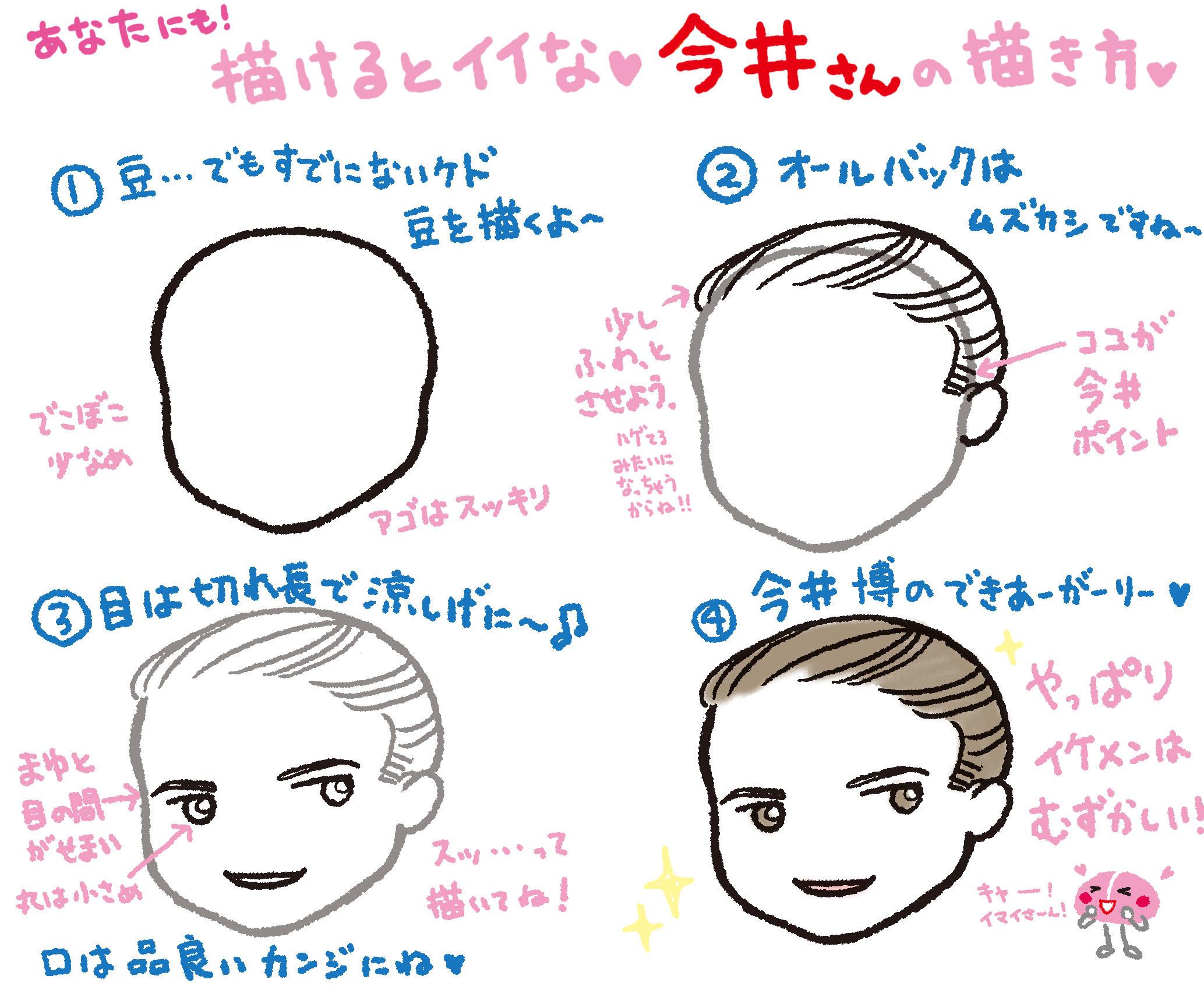 今井さんの描き方