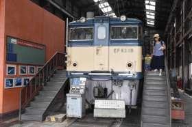 鉄道文化むらに展示されるEF63