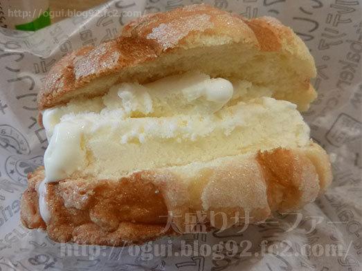 アイスメロンパンを実食011