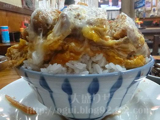 二葉海神第一支店のカツ丼大盛り011