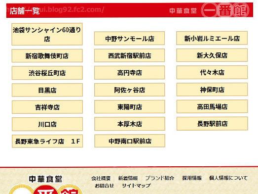 中華食堂一番館ホームページ007