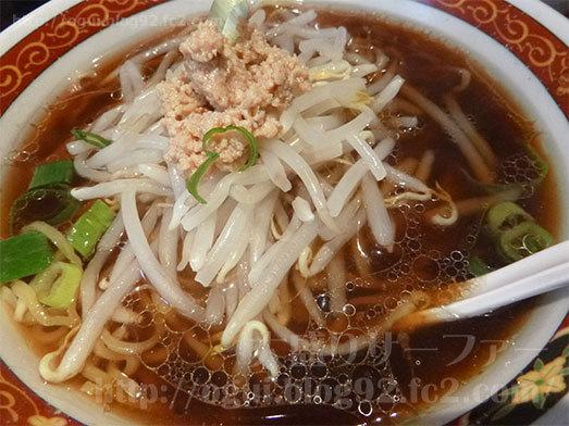 中華食堂一番館のかけラーメン014