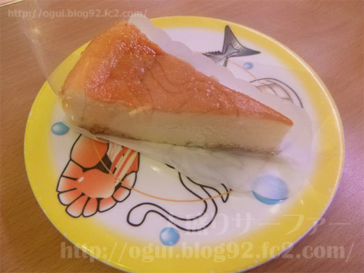 デザートメニューのチーズケーキ044