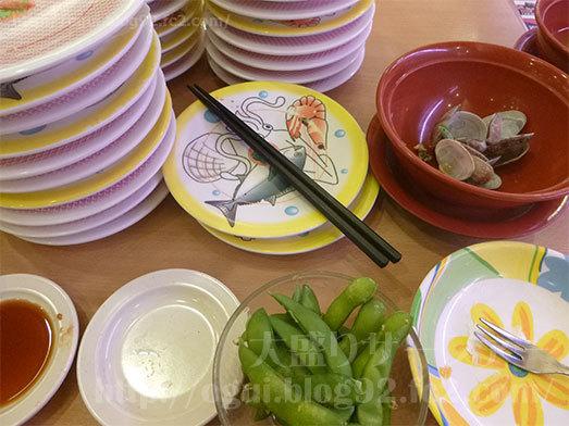 かっぱ寿司の食べ放題を完食046