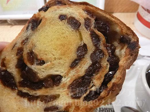 77%ぶどうパン付モーニングを実食031