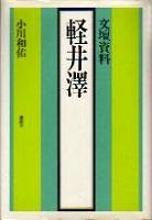 小川和佑著『文壇資料 軽井澤』カバー
